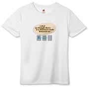 Distance Between Us Hanes Women's Cool Dri T-shirt