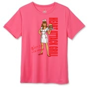 Nurse Jaimee Hanes Women's Cool Dri T-shirt