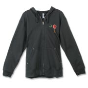 Buy a School Apple Palmetto Moon Canvas Freemont Full-Zip Hoodie. Made especially for teachers, it features the South Carolina palmetto with a smaller apple and chalkboard moon printed on the left chest area.