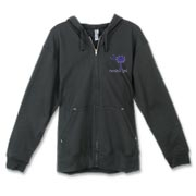 Buy a Purple Carolina Girl Canvas Freemont Full-Zip Hoodie featuring the South Carolina palmetto moon logo.