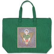 Angel Dean Canvas Zipper Tote