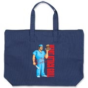 Dr Martin Borbon Canvas Zipper Tote