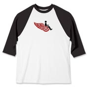 Handicapped Red Wings Baseball Jersey