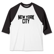 Just like the New York City shirt that John Lennon made famous.  I designed this myself, using a photograph to copy the original.  Be sure to buy tight, and cut off the sleeves to achieve the complete classic look.