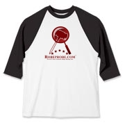 Play Ball! RobeProbe's baseball t-shirt is a hit!