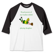 Proud of Infielder Daughter Baseball Jersey