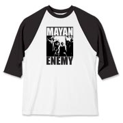 Mayan Enemy - Baseball Jersey