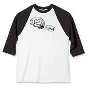 My Brain Baseball Jersey