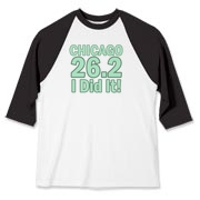 You Did It! Chicago Marathon in soft green.