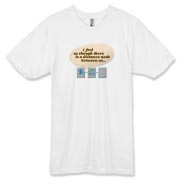 Distance Between Us American Apparel 50/50 Tee