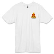 158th Artillery, MLRS - American Apparel Light Color 50/50 Tee: Front & Back Insignia, Available in One Light Color.