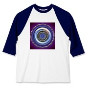 Optical illusion t-shirt for spot on style.