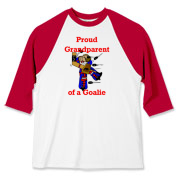 Goalie Grandparent Baseball Jersey