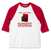 Warranty Station  Baseball Jersey