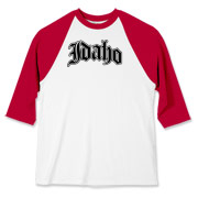 Represent Idaho with this Olde English typeface design.