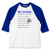 Why I Love Hockey Baseball Jersey