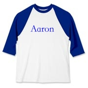 Personalized shirts can be available for purchase in a matter of hours. Email mkfcox@casscomm.com with clothing and color choice and I will make it available for purchase! Great for sports teams!