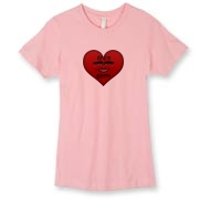 sg heart womens Next Level Women's T-Shirt