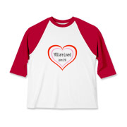 YOU are Loved, Kids Baseball Jersey
