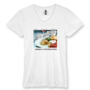 American Apparel Women's 50/50 Tee