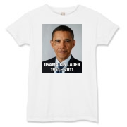 Obama Teardrop for Bin Laden Women's T-Shirt
