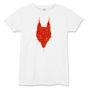 Lavawolf Head Graphic Women's T-Shirt