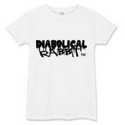 Diabolical Rabbit Graffiti  Women's Tee