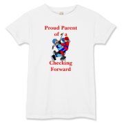 Proud of Checking Forward Women's T-Shirt