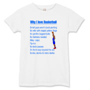 Why I Love Basketball Women's T-Shirt