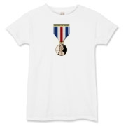 Pennies For Heroes Medal Women's T-Shirt