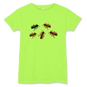 Ants on front and on back. Women's T-Shirt