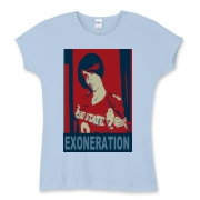 exzoneration Women's Fitted Baby Rib Tee