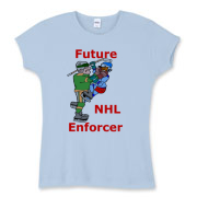 Future Enforcer Women's Fitted Baby Rib Tee