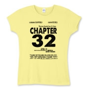 Chapter 32 Movie Poster Women's Fitted Baby Rib Te
