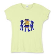 This women's Stonehenge style fitted baby rib tee shows six massive stone Pi symbols arranged in a great circle. Within the circle of Pi symbols burns a sacrificial fire. Perfect for Pi Day and Pi lovers everywhere.