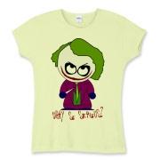 Joker Shirt Womens Baby Rib Tee $25.99