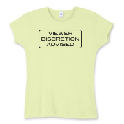 Some might heed this 'Viewer Discretion Advised' message and turn away, but many more will watch to see what happens next. Either way, reverse psychology is bound to make things more interesting.