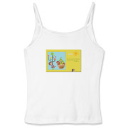 Women's Fitted Spaghetti Strap Tank