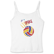 If you like to spike, you will love this volleyball t-shirt.