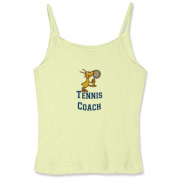 Need something different for your Tennis Coach? This tennis playing goat holds a racquet in one hoof and the tennis ball in the other.  Too funny!