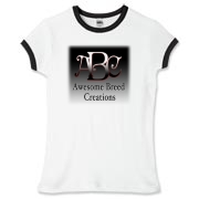 Awesome Breed Creations Women's Fitted Ringer Tee