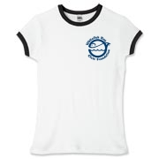 WFB Civic Foundation Women's Fitted Ringer Tee