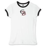 Women's Fitted Ringer Tee