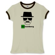 Heisenberg :: Funny sketch drawing of the famous drug lord, Heisenberg from Breaking Bad. Nobody messes with Heisenberg. This is a very funny shirt for fans of Breaking Bad.