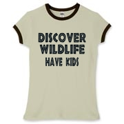 A silly saying for stressed moms: Discover Wildlife - Have Kids!