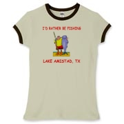 If you'd rather be fishing at Lake Amistad, TX then this is the product for you!