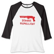 In case of a Zombie epidemic you need to be prepared. Make sure you have some zombie repellent. Also known as a shotgun or boom stick.