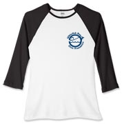 WFB Civic Foundation Women's Fitted Baseball Tee