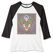 Angel Dean Women's Fitted Baseball Tee