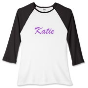 Personalized shirts can be available for purchase in a matter of hours. Email mkfcox@casscomm.com with clothing and color choice and I will make it available for purchase! Great for sports teams or clubs!
